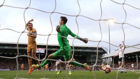 Tottenham Hotspur's Harry Kane scoring at Fulham- a sight Jack Dye says is too common these days. Pi