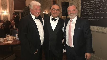 A comedy and auction evening held at the Thomas Paine Hotel in Thetford has raised £1,021 for EACH.