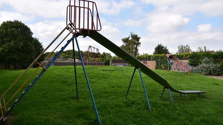 The Harriet Martineau play park in Thetford. Picture: Sonya Duncan