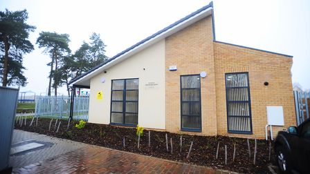St Johns Community Centre in Mildenhall. Picture: Gregg Brown