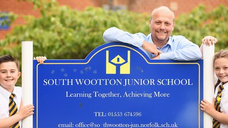 Headteacher Jonathan Rice will be leaving South Wootton Junior School at the end of the Summer term.
