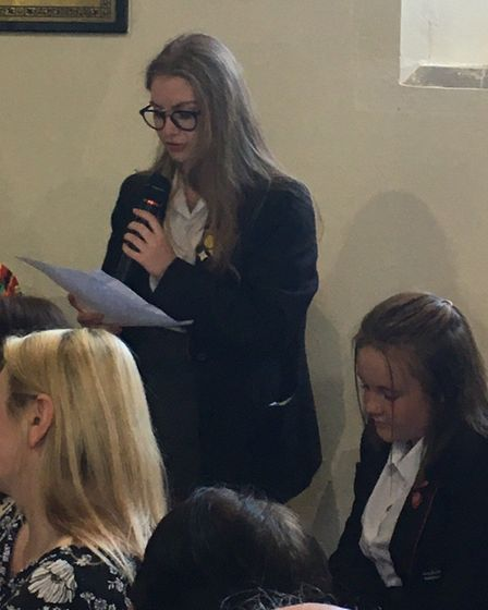Ormiston Venture Academy students ask questions of candidates at local hustings