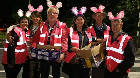 Volunteers at a previous St Nicholas Hospice Cares Girls Night Out. Picture: St Nicholas Hospice Car