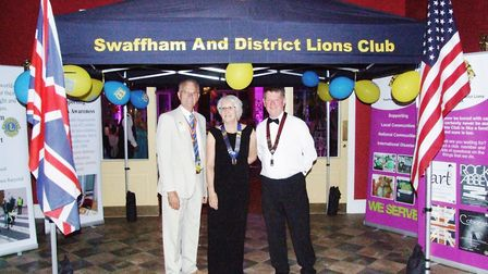 Swaffham Lions celebrates its 100th anniversary at a call. Picture: SWAFFHAM LIONS