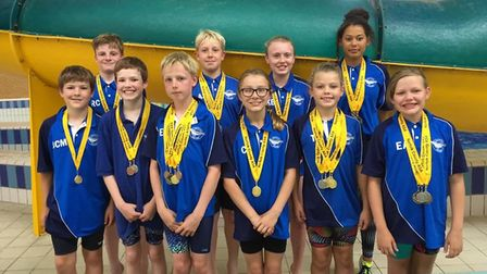 Thetford Dolphins competed well at the Warrick Thompson Gala. Picture: Karen Darton