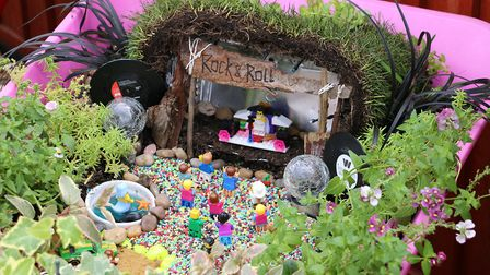 Brandon in Bloom's Blooming Barrows competition. The winner of the public vote was Canndii Sam by Da
