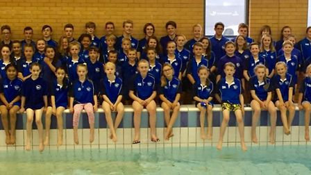Thetford Dolphins Swimming Club. Picture: Thetford Dolphins