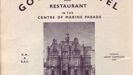 Goodes Hotel in its heyday.