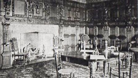The Star's oak-panelled Nelson Coffee Room. That panelling is now in a New York museum.