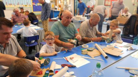 Northgate Primary School and Norfolk Family Learning hosted a Dads R Us afternoonPicture: Northgate