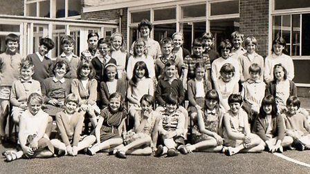 Bradwell Junior School class of 1967: those pictured include Karl Reynolds, Timothy Pickett, John Wy