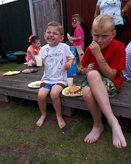 The party fun at Sunbeams Play.Picture; Sunbeams Play