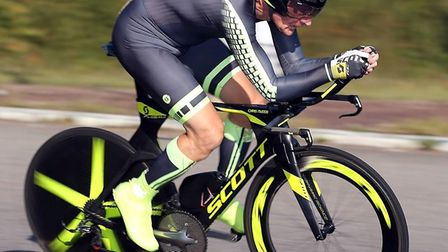 Cycling Club Breckland's Chris Nudds in action. Picture: Davy Jones