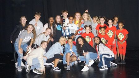 Members of Urban Street Dance Crew. Picture: Shirley Conroy