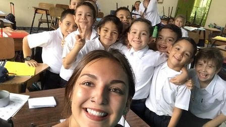Bethany Morris spent five weeks in Costa Rica during the summer teaching in a local school and trekk