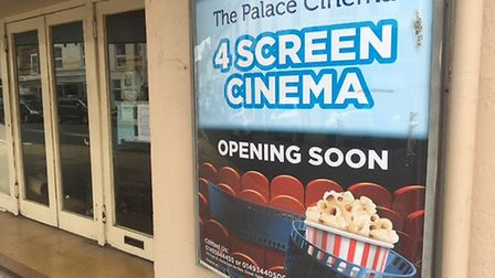 The Palace Cinema which is due to re-open next month. Photo: Liz Coates