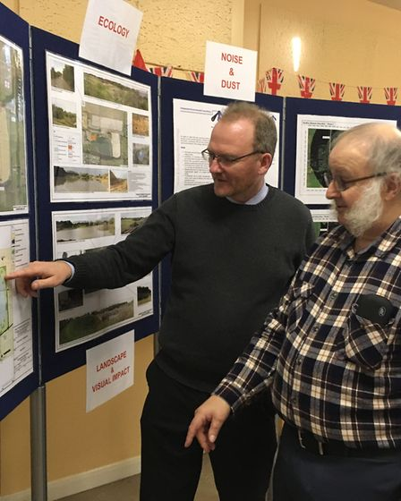 Phil Parker, ecology and landscape expert, runs through the finer detail of plans to expand Welcome