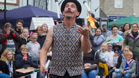 Brandon Fire and Flint Festival 2017. Picture: CARL WIBBERLEY