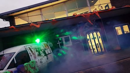 Old Skool Bar's Halloween Thriller Night at Thetford's Charles Burrell Centre. Picture: Terry Jermy
