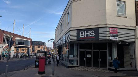 The former BHS store in Great Yarmouth is up for auction. Photo: George Ryan