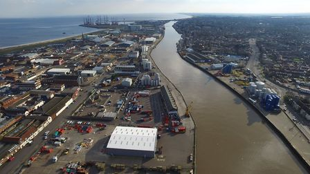A bird's eye view of Asco in Great Yarmouth.Picture: Great Yarmouth
