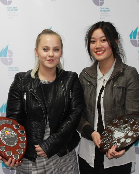 Kirby Durrant and Jordana Wong.Picture