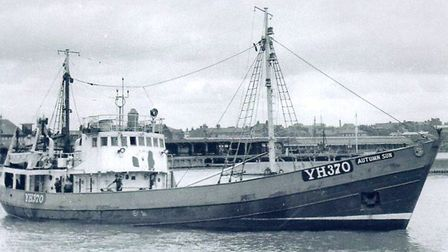 The Autumn Sun, whose skippers included Peggotty's father. Picture: KEN HEMP COLLECTION