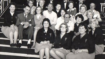 Photo-call for stars and front-of-house staff at the ABC Regal in 1967 when Morecambe and Wise toppe