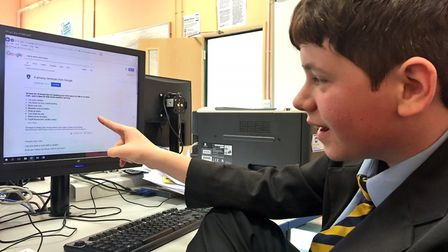 Wayland Academy pupils take part in fuel poverty campaign. Picture: Camouflaged Learning