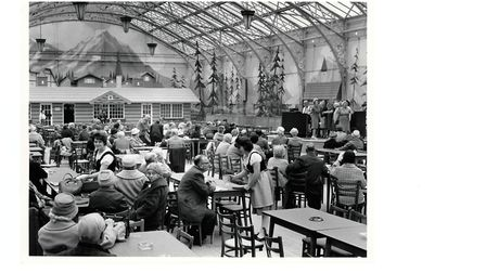 interior of the Winter Gardens at Great Yarmouth, 1960s Archant copyright photoLIB201503