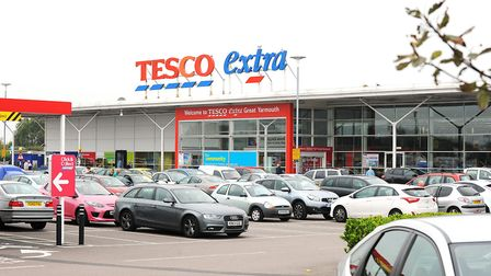 The Tesco extra store in Great Yarmouth.Picture: James Bass