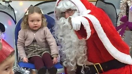 Hopton villagers enjoy a Christmas party