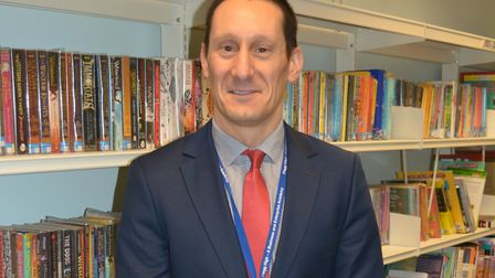 Ross Li-Rocchi will be interim principal at Flegg High School.Picture: Diane Spooner