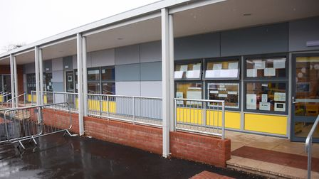 The new building at Northgate Primary School which has six classrooms, a library, a small drama hall