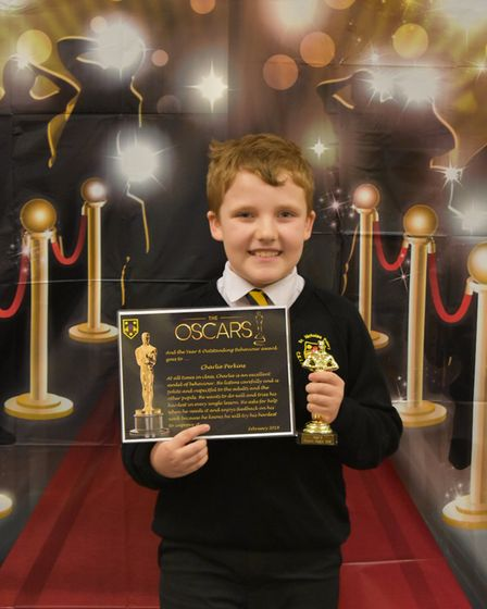 The Oscar-sytle awards night recognsed outstanding pupils.Picture: St Nicholas Priory Primary School