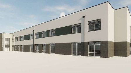 Images have been released showing what a new school on the North Denes site in Great Yarmouth could