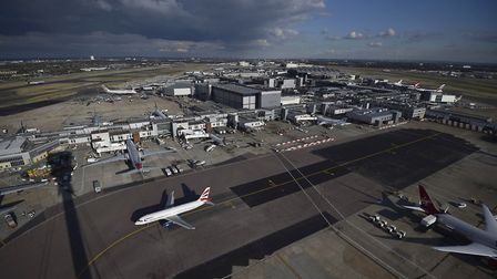 Heathrow Airport. Picture: Hannah McKay/PA Wire