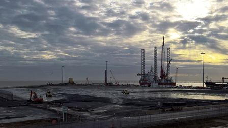 Peel Ports site. Picture: Richard Goffin