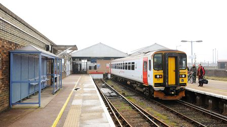 Brandon Lewis has described the train service between Great Yarmouth and Norwich as 'totally unaccep