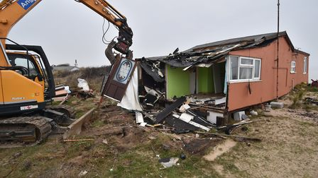 Several properties have now been demolished. Picture: Antony Kelly