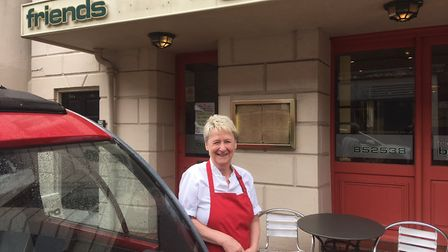 Jenny Haylett is celebrating 50 years of trading in Great Yarmouth. Picture: Jacob Massey