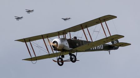 Thrilling action from aircraft of the Brement Great War Display Team, who will be entertaining the c