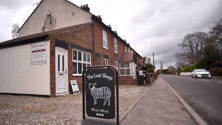 The Lost Sheep Wool Shop in Rollesby. Picture: ANTONY KELLY