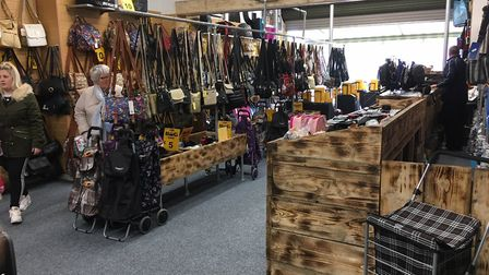 The Bag Shop has reopened after being destroyed in the 2016 fire in Regent Road. Picture: Jacob Mass