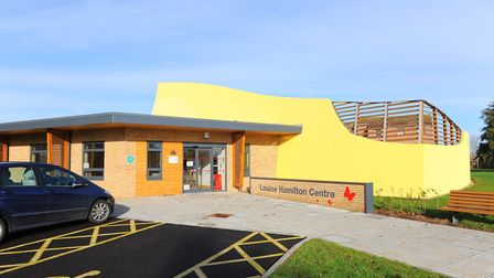 The Louise Hamliton Centre next to the James Paget University Hospital in Gorleston. View of empty l