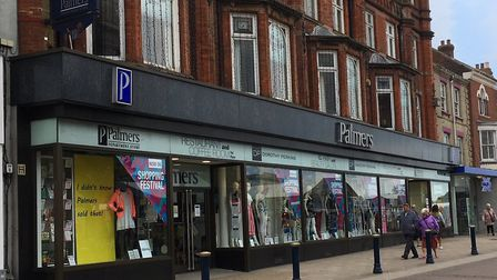 Palmers department store in Market Place, Great Yarmouth.