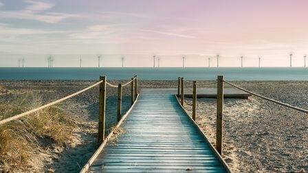 The boardwalk at North Beach, Great Yarmouth Picture: JP Appleton