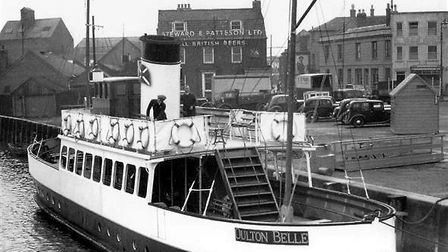 Regal Lady, returning to Great Yarmouth for the Maritime Festival