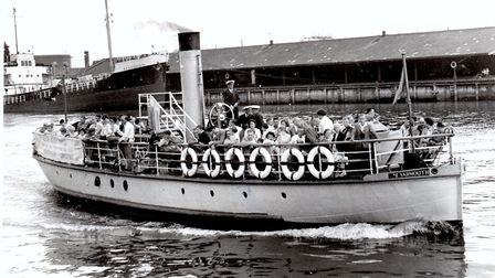 The double-ended pleasure tripper Yarmouth in the Yare in 1980. Picture: MERCURY ARCHIVE