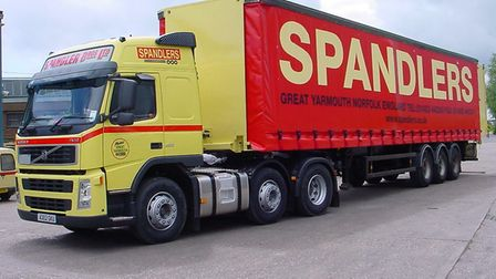 Spandler lorries were a common sight. Picture: Spandler Bros